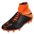 Nike Hypervenom Phantom II Leather FG (Black/Total Orange)