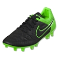 Nike Tiempo Legend V FG (Black/Green Strike)