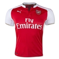 Arsenal 15/16 Home Soccer Jersey