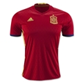 Spain 2016 Home Soccer Jersey
