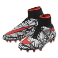 Nike Hypervenom Phantom II NJR FG (Black/Total Crimson)