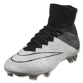 Nike Mercurial Superfly Leather FG (Light Bone/White)