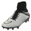 Nike Hypervenom Phantom II Leather FG (Light Bone/White)