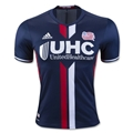 New England Revolution 2016 Authentic Home Soccer Jersey