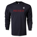 FIFA Confederations Cup 2013 Mexico LS T-Shirt (Black)