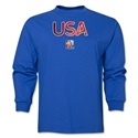 USA FIFA Women's World Cup Canada 2015(TM) LS T-Shirt (Royal)