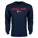 England Euro 2016 Core Long Sleeve T-Shirt (Navy)