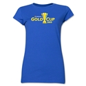 CONCACAF Gold Cup 2015 Junior Women's T-Shirt (Royal)