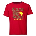 Cameroon Soccer Youth T-Shirt (Red)
