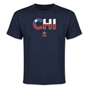 Chile Copa America 2016 Youth Elements T-Shirt (Navy)