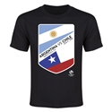 Argentina vs Chile Copa America 2016 Youth Matchup T-Shirt (Black)