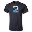 FIFA Beach World Cup 2013 Youth Emblem T-Shirt (Black)