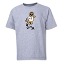 2006 FIFA World Cup Goleo VI Mascot Youth T-Shirt (Gray)