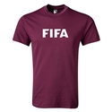 FIFA Brand Youth Logo T-Shirt (Maroon)
