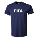 FIFA Brand Youth Logo T-Shirt (Navy)