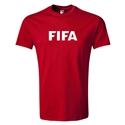 FIFA Brand Youth Logo T-Shirt (Red)