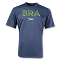 Brazil 2014 FIFA World Cup Brazil(TM) Training T-Shirt (Navy)