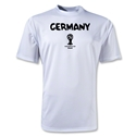 Germany 2014 FIFA World Cup Brazil(TM) Men's Core Training T-Shirt (White)