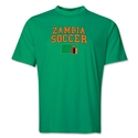 Zambia Soccer Training T-Shirt (Green)