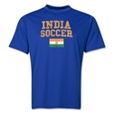 India Soccer Training T-Shirt (Royal)