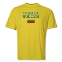 Lithuania Soccer Training T-Shirt (Yellow)