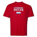 Luxembourg Soccer Training T-Shirt (Red)