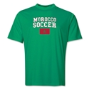 Morocco Soccer Training T-Shirt (Green)