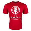 Euro 2016 Training T-Shirt (Red)