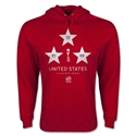 USA FIFA Women's World Cup Champions Hoody (Red)