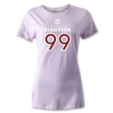 Barcelona 1899 Women's Distressed T-Shirt (Pink)