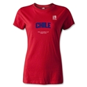 FIFA U-20 World Cup 2013 Women's Chile T-Shirt (Red)