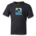 FIFA Beach World Cup 2013 Kids Emblem T-Shirt (Black)