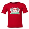 1986 FIFA World Cup Kids Emblem T-Shirt (Red)