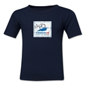 1998 FIFA World Cup Kids Emblem T-Shirt (Navy)