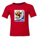 2010 FIFA World Cup Kids Emblem T-Shirt (Red)