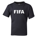 FIFA Brand Kids Logo T-Shirt (Black)