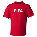 FIFA Brand Kids Logo T-Shirt (Red)
