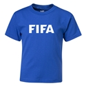 FIFA Brand Kids Logo T-Shirt (Royal)