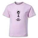 2014 FIFA World Cup Brazil(TM) Kids Trophy T-Shirt (Pink)