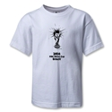 2014 FIFA World Cup Brazil(TM) Kids Trophy T-Shirt (White)