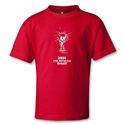 2014 FIFA World Cup Brazil(TM) Kids Trophy T-Shirt (Red)