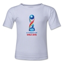 FIFA U-17 World Cup Chile 2015 Kids Official Emblem T-Shirt (White)