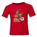 1986 FIFA World Cup Pique Mascot Toddler T-Shirt (Red)