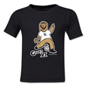 2006 FIFA World Cup Goleo VI Mascot Toddler T-Shirt (Black)