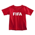 FIFA Brand Toddler Logo T-Shirt (Red)