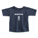 Argentina 2014 FIFA World Cup Brazil(TM) Toddler Core T-Shirt (Navy)