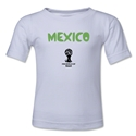 Mexico 2014 FIFA World Cup Brazil(TM) Toddler Core T-Shirt (White)