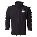 Netherlands Performance Softshell Jacket (Black)