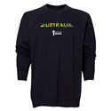 Australia 2014 FIFA World Cup Brazil(TM) Men's Palm Crewneck Sweatshirt (Black)