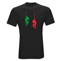 Cleats Graphic T-Shirt (Black)